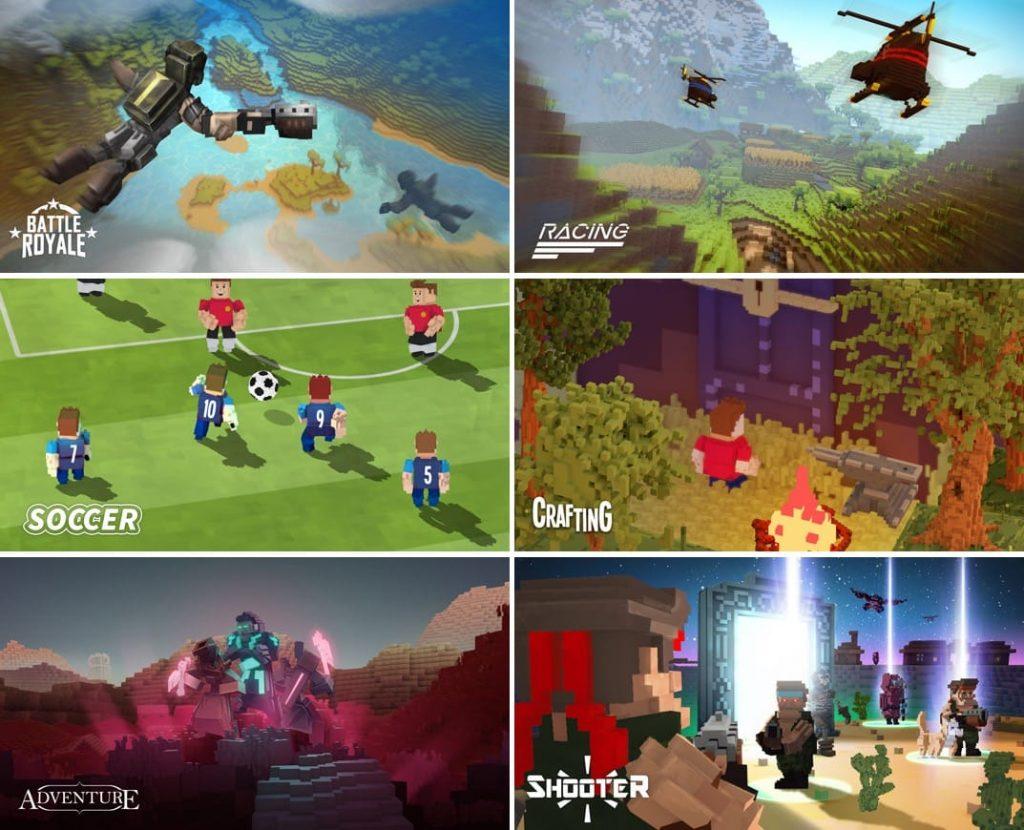Геймплей игры The Sandbox